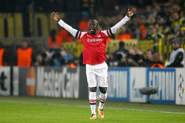 Sagna jogou por sete anos no Arsenal (Foto: Boris Streubel/Getty Images)