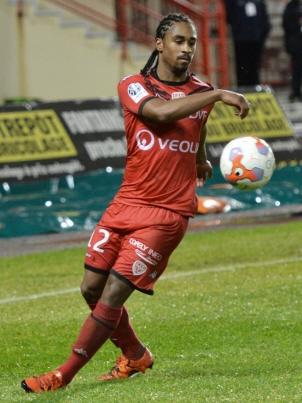 Wesley Said sous les couleurs dijonnaises lors de la saison 2015-2016