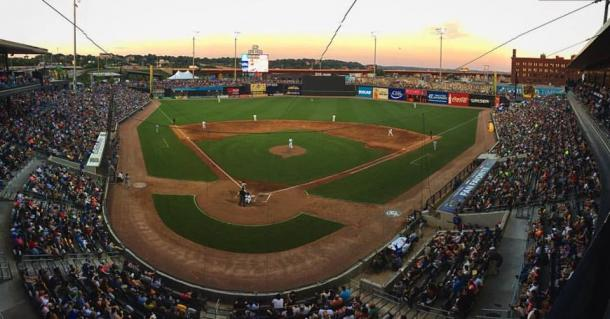 A general view of CHS Field during the game. (St. Paul Saints)