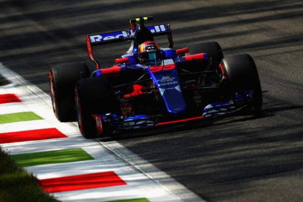 Sainz vai para a Renault após três temporadas na Toro Rosso (Foto: Clive Rose/Getty Images)