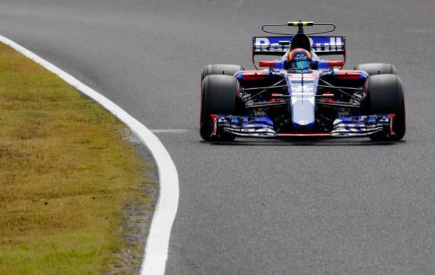 O GP do Japão será o último de Carlos Sainz pela Toro Rosso (Foto: Lars Baron/Getty Images)