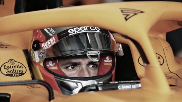 Carlos Sainz en los test de pretemporada 2020. Fuente: VAVEL