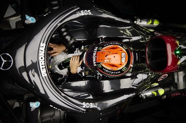 Primera Q3 para George Russell. Fuente: Mercedes