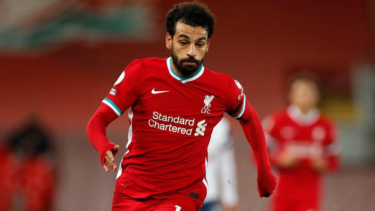 Mohamed Salah en acción duratne un partido. FUENTE: Liverpool FC
