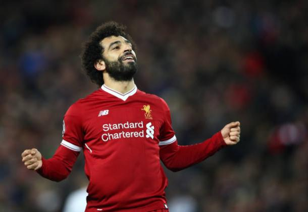 Artilheiro da PL, Salah é a grande esperança de gols do Liverpool (Foto: Clive Brunskill/Getty Images)