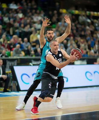 Javi Salgado cambió el partido para Bilbao Basket | Foto: ACB Photo