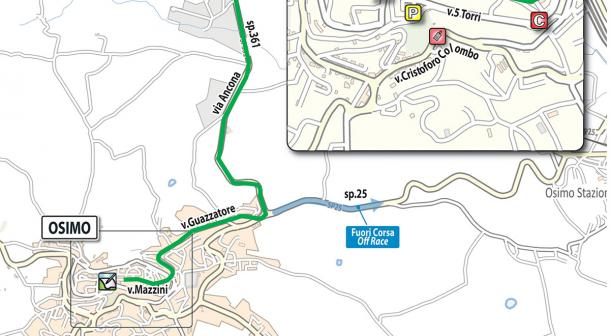 Salida etapa 12: Osimo - Imola   Foto: Giro de Italia