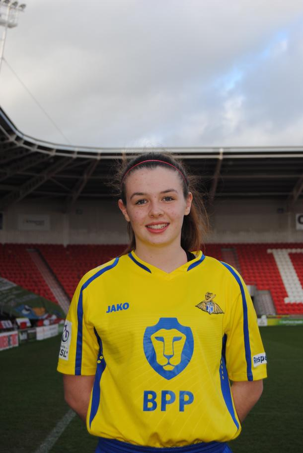 The talented teen will be hoping to showcase her skills in England's top division. (Image credit: Doncaster Belles)