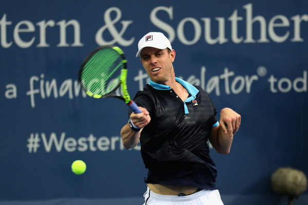 Sam Querrey in action at the Western and Southern Open | Photo: Rob Carr/Getty Images North America