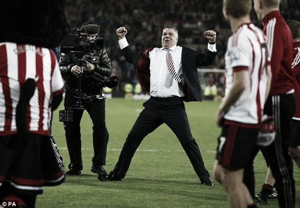 Could Allardyce do both jobs? Photo- Daily Mail