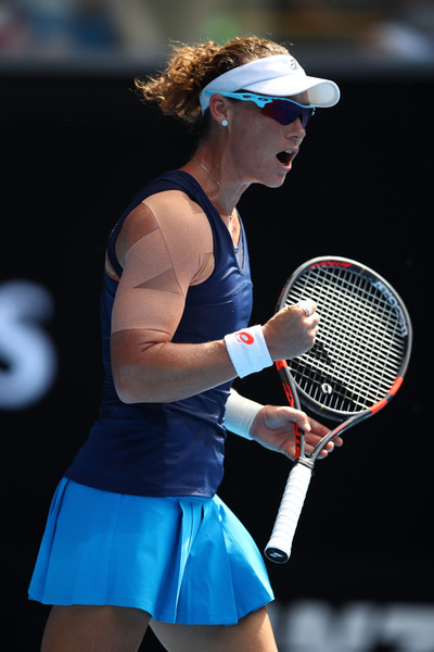 Samantha Stosur would be happy with her performance today   Photo: Clive Brunskill/Getty Images AsiaPac