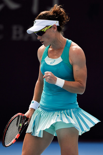 Samantha Stosur moves onto the quarterfinals in Hong Kong | Photo: Etienne Oliveau/Getty Images AsiaPac
