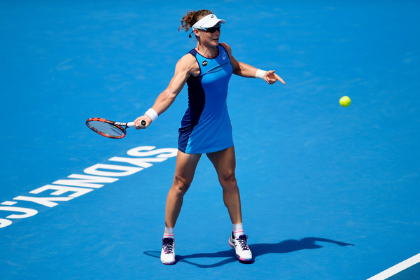 Samantha Stosur fell in the opening round this year | Photo: Brett Hemmings/Getty Images AsiaPac