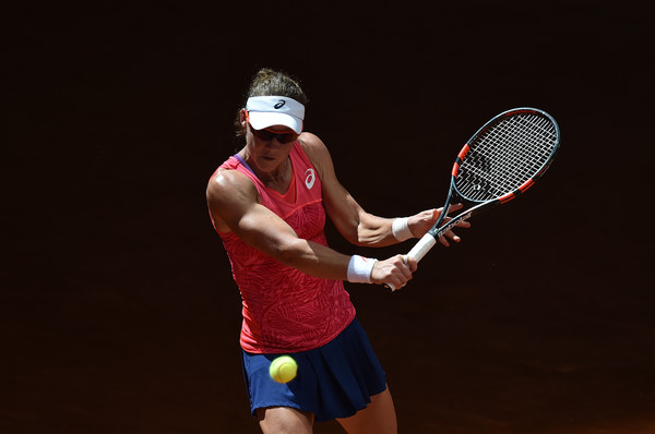 Samantha Stosur with her backhand slice | Photo: Denis Doyle/Getty Images Europe