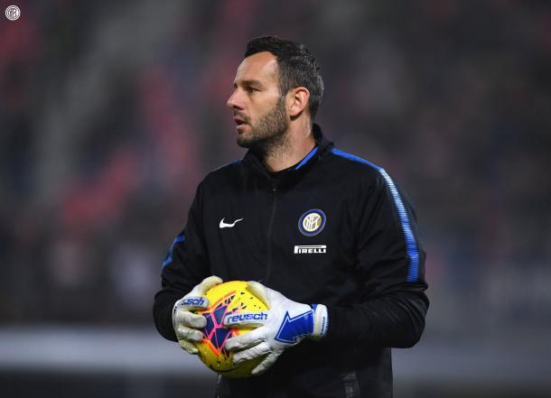 Handanovic, capitán del Inter de Milán / Foto: Twitter ofical Inter