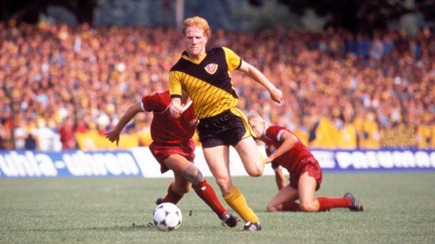 Matthias Sammer during his Dynamo Dresden days | Photo: t-online.de