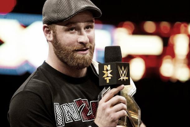 Sammi Zayn looks set to be Nakamura's first opponent in NXT (image: BleacherReport)