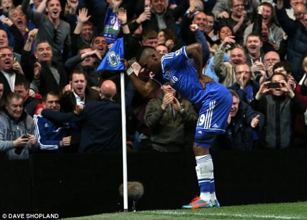 Eto'o quickly became a fan favourite in his short stint at Stamford Bridge. | Photo: Dave Shopland