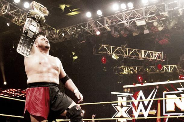 The NXT Champion would certainly rise to the occasion. Photo- Bleacher Report