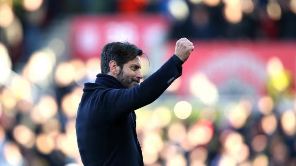 Quique Sanchez Flores won the Manager of the Month award in December. (Source: Sky Sports)