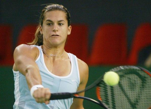 Mauresmo in 2003 (Getty/Sandra Behne)