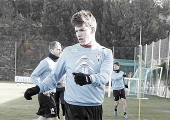 Santi Mina en un entrenamiento en 2013 / Foto: Marca