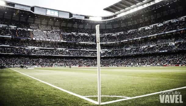 El Santiago Bernabéu antes de que comience un partido   Foto: VAVEL