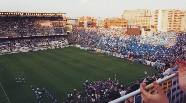 Estadio de Sarriá, antiguo campo del RCD Espanyol