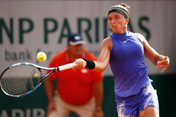 Sara Errani hits a forehand | Photo: Adam Pretty/Getty Images Europe