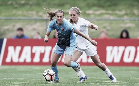 Sarah Killion scored twice for Sky Blue (Source: Getty - Icon Sportswire)