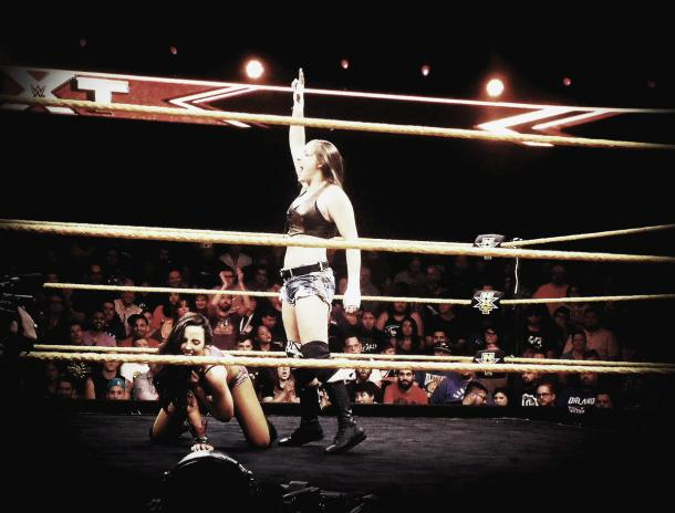 Logan has appeared several times on NXT. Photo- Twitter.com