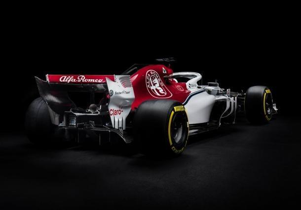 F1: Sauber já mostrou o C37/Ferrari para a nova temporada de F1