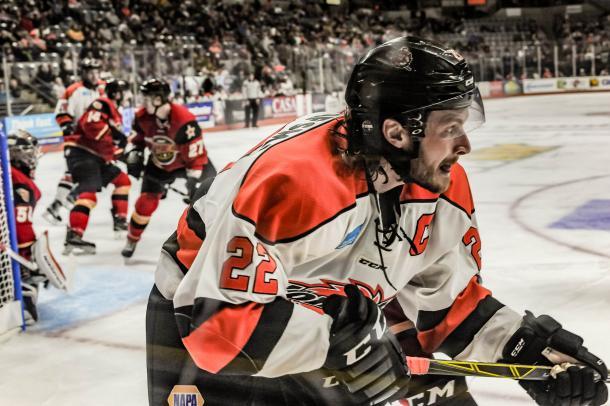 Jamie Schaafsma (22) Credit: komets.com
