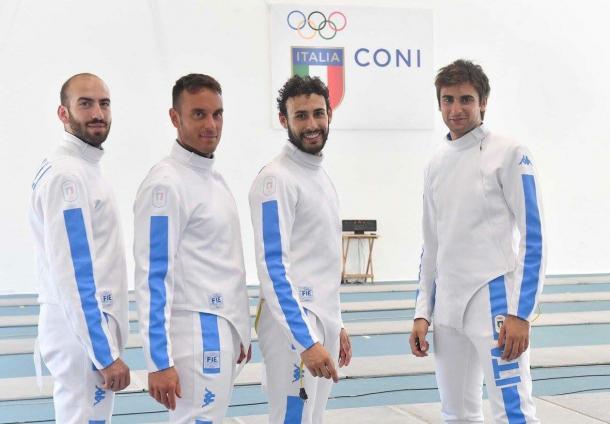 La spada italiana in finale a Rio 2016, twitter @Federscherma
