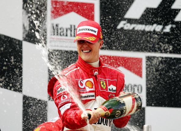 Com seis vitórias, Michael Schumacher é o maior vencedor na Espanha (Foto: Mark Thompson/Getty Images)