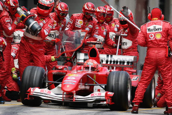 Michael Schumacher detém vários recordes importantes na Espanha (Foto: Mark Thompson/Getty Images)