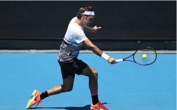 Federer will face world number 300 Jurgen Melzer on Monday in the night session of day one of the 2017 Australian Open. Credit: Scott Barbour/Getty Images