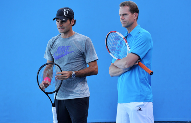 It was a successful partnership that brought Federer back to form.