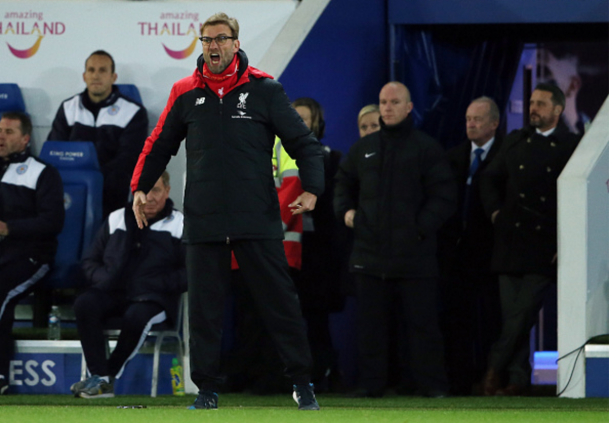 It was another frustrating evening for Jürgen Klopp in the East Midlands. (Picture: Getty Images)