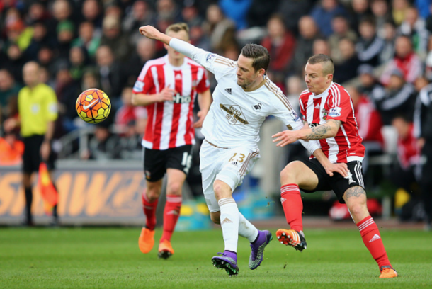 Sigurdsson had Swansea's best chance of the game. (Picture: Getty Images)