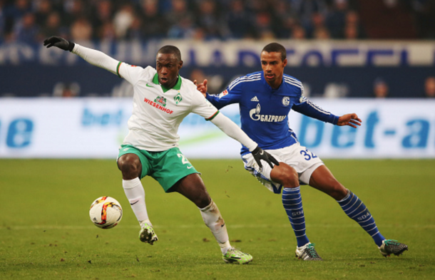 Towering centre-back Matip in action for Schalke earlier this year. (Picture: Getty Image)