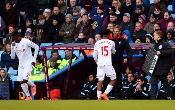 Sturridge's replacement Divock Origi took just 37 seconds to score himself. (Picture: Getty Images)