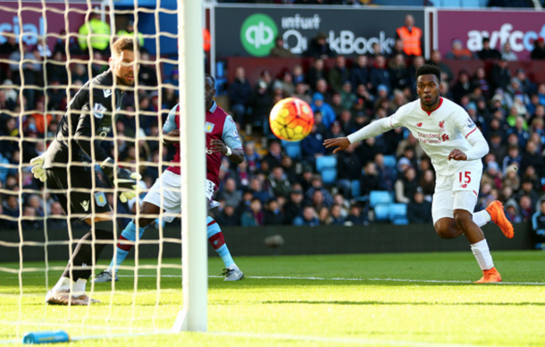 Sturridge's header on 16 minutes set the Reds on their way to an emphatic win. (Picture: Getty Images)