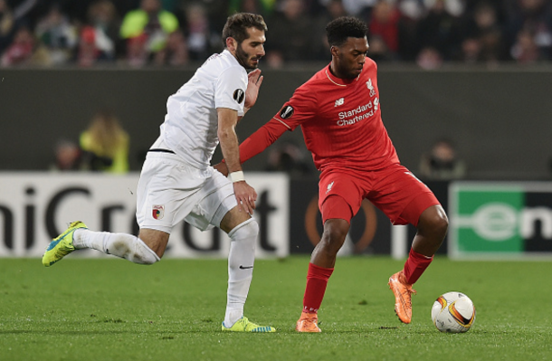 Sturridge was part of a strong Liverpool side but couldn't impact proceedings. (Picture: Getty Images)