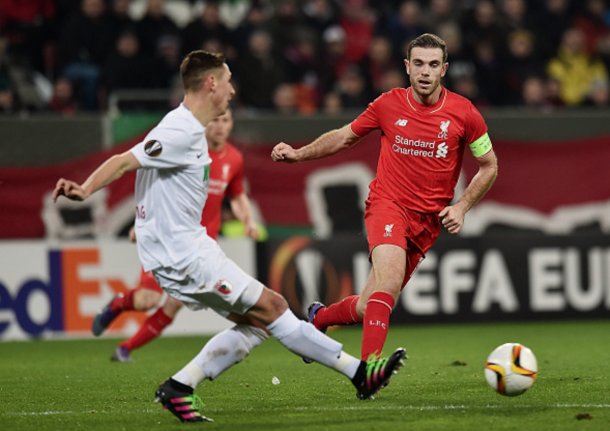 Henderson and his teammates couldn't come away with a first-leg advantage from Germany. (Picture: Getty Images)