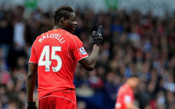 Balotelli scored just once in the Barclays Premier League last year for Liverpool. (Picture: Getty Images)