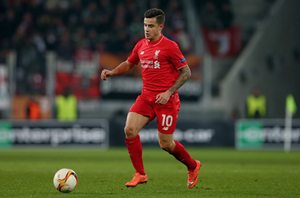 Coutinho has only recently returned from injury. (Picture: Getty Images)