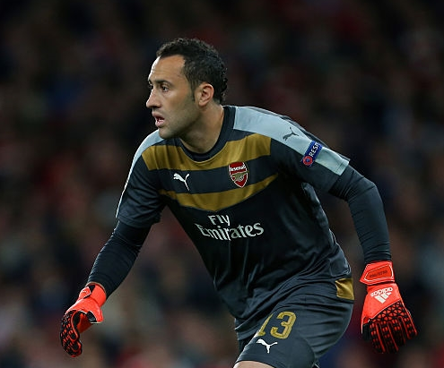 Ospina has barely featured this season, and is frustrated with the lack of playing opportunities