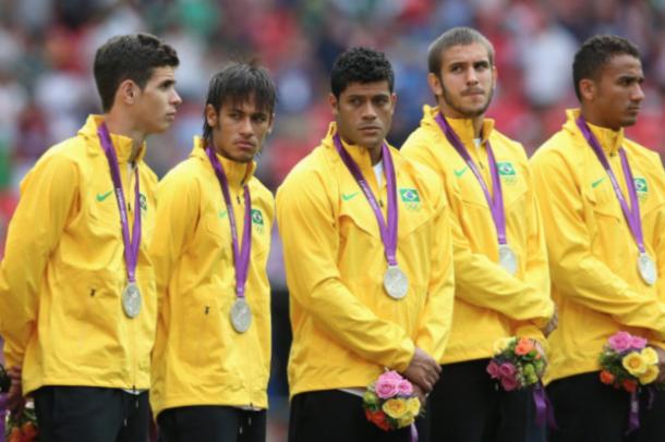 Brazil fell short of the Gold Medal at London 2012
