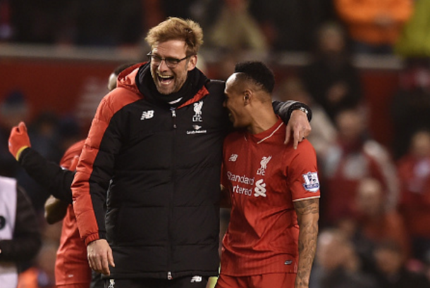 Klopp joked that Clyne may need to work on his crossing to play on the left in the future. (Picture: Getty Images)